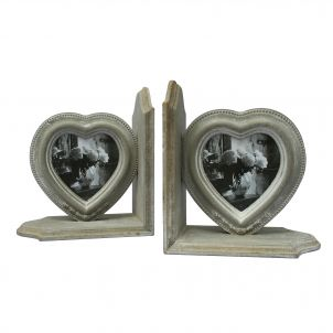 Heart Bookends 02